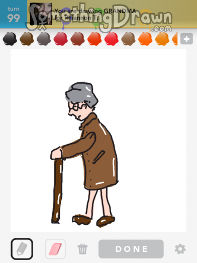 how to draw something for grandma